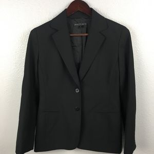 Lafayette 148 Wool Two Button Structured Blazer